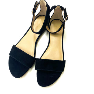 Primary Photo - BRAND: ANN TAYLOR O STYLE: SANDALS FLAT COLOR: BLACK SIZE: 9 SKU: 180-18038-101416