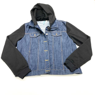 Primary Photo - BRAND:    CLOTHES MENTOR STYLE: JACKET OUTDOOR COLOR: DENIM SIZE: L OTHER INFO: MOONLIGHT - SKU: 180-18074-1484