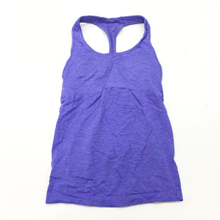 Primary Photo - BRAND: LULULEMON STYLE: ATHLETIC TANK TOP COLOR: PURPLE SIZE: S OTHER INFO: (6) DESIGNER SKU: 180-18083-25379