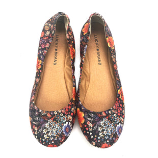 Primary Photo - BRAND: LUCKY BRAND O STYLE: SHOES FLATS COLOR: FLOWERED SIZE: 8 SKU: 180-18083-20128