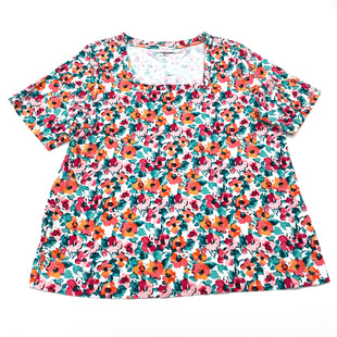 Primary Photo - BRAND: CROFT AND BARROW STYLE: TOP SHORT SLEEVE COLOR: FLORAL SIZE: 2X SKU: 180-18038-104641