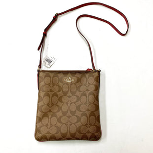 Primary Photo - BRAND: COACH STYLE: HANDBAG DESIGNER COLOR: TAN SIZE: SMALL OTHER INFO: F35940, RETAIL $195 SKU: 180-18083-20911