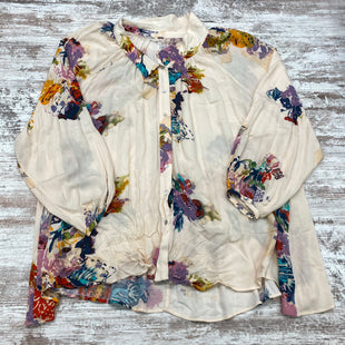 Primary Photo - BRAND: FREE PEOPLE STYLE: BLOUSE COLOR: FLORAL SIZE: L SKU: 180-18083-25244