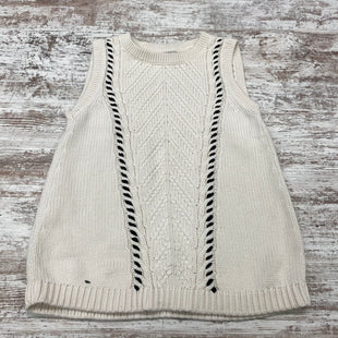 Primary Photo - BRAND: ANN TAYLOR LOFT O STYLE: TOP SLEEVELESS COLOR: CREAM SIZE: XS OTHER INFO: SLEEVELESS SWEATER SKU: 180-18083-24884
