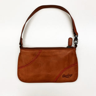 Primary Photo - BRAND:    CLOTHES MENTOR STYLE: CLUTCH COLOR: CAMEL OTHER INFO: RAWLINGS - LEATHER SKU: 180-18071-7734