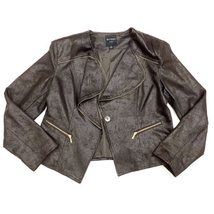 Primary Photo - BRAND:    CLOTHES MENTOR STYLE: BLAZER JACKET COLOR: BROWN SIZE: XL OTHER INFO: INSIGHT - (14) SKU: 180-18038-87982