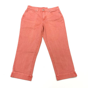 Primary Photo - BRAND: CHRISTOPHER AND BANKS STYLE: CAPRIS COLOR: PEACH SIZE: 6 SKU: 180-18057-14008