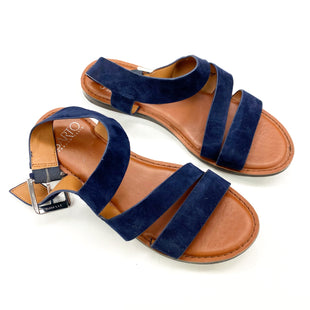 Primary Photo - BRAND: FRANCO SARTO STYLE: SANDALS FLAT COLOR: BLUE SIZE: 6.5 SKU: 180-18071-10912