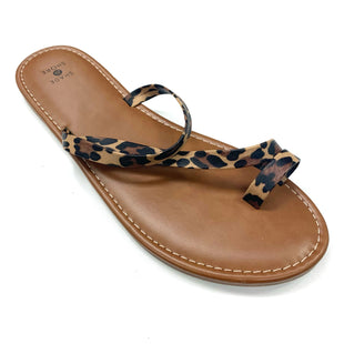 Primary Photo - BRAND:  CME STYLE: SANDALS FLAT COLOR: ANIMAL PRINT SIZE: 11 OTHER INFO: SHADE & SHORE - SKU: 180-18095-167