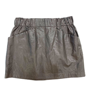 Primary Photo - BRAND: ZARA BASIC STYLE: SKIRT COLOR: BROWN SIZE: L SKU: 180-18038-95168