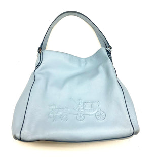 Primary Photo - BRAND: COACH STYLE: HANDBAG DESIGNER COLOR: LIGHT BLUE SIZE: LARGE OTHER INFO: AS IS 33728 SKU: 180-18038-98754