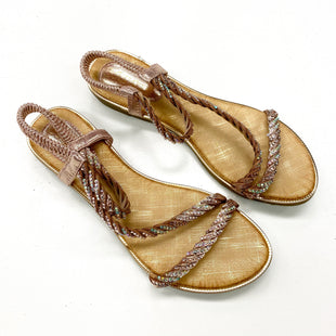 Primary Photo - BRAND:    CLOTHES MENTOR STYLE: SANDALS FLAT COLOR: DUSTY PINK SIZE: 8.5 OTHER INFO: JSXW - (39) SKU: 180-18038-106262