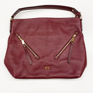Primary Photo - BRAND: MICHAEL KORS STYLE: HANDBAG DESIGNER COLOR: BURGUNDY SIZE: LARGE SKU: 180-18071-7663