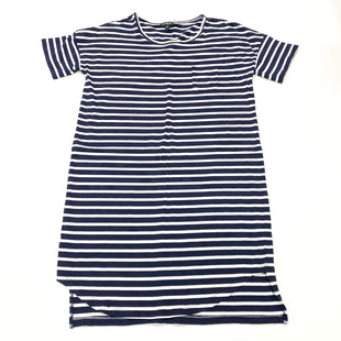 Primary Photo - BRAND: EXPRESS STYLE: DRESS SHORT SHORT SLEEVE COLOR: BLUE WHITE SIZE: M SKU: 180-18071-10961