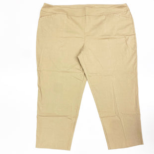 Primary Photo - BRAND: TERRA & SKY STYLE: PANTS COLOR: TAN SIZE: 4X SKU: 180-18071-5945