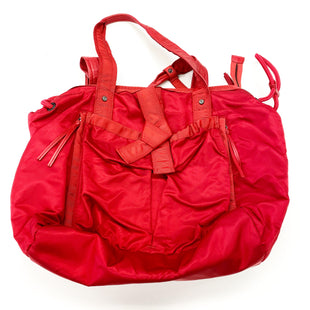 Primary Photo - BRAND: LULULEMON STYLE: TOTE COLOR: RED SIZE: MEDIUM OTHER INFO: AS IS SKU: 180-18083-25391