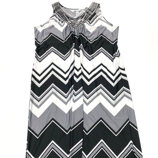 Primary Photo - BRAND: CATHERINES STYLE: DRESS LONG SLEEVELESS COLOR: BLACK WHITE SIZE: 2X SKU: 180-18057-13813