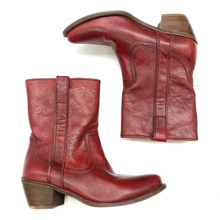 Primary Photo - BRAND: STEVE MADDEN STYLE: BOOTS ANKLE COLOR: RED SIZE: 7 SKU: 180-18083-14752