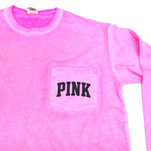 Primary Photo - BRAND: PINK STYLE: ATHLETIC TOP COLOR: PINK SIZE: XS SKU: 180-18074-1414