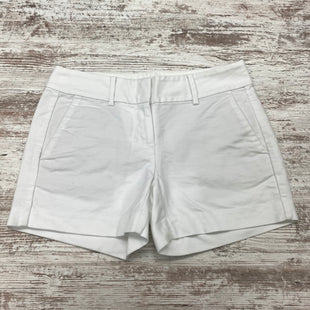 Primary Photo - BRAND: ANN TAYLOR STYLE: SHORTS COLOR: WHITE SIZE: 0 SKU: 180-18057-13922
