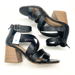 Primary Photo - BRAND: TIME AND TRU STYLE: SANDALS HIGH COLOR: BLACK SIZE: 9 SKU: 180-18083-21592