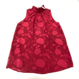 Primary Photo - BRAND: ANN TAYLOR LOFT STYLE: TOP SLEEVELESS COLOR: BURGUNDY SIZE: XS SKU: 180-18038-105590