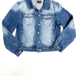 Primary Photo - BRAND:    CLOTHES MENTOR STYLE: BLAZER JACKET COLOR: DENIM SIZE: XL OTHER INFO: RANBEER - SKU: 180-18038-92829