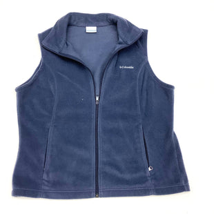 Primary Photo - BRAND: COLUMBIA STYLE: VEST FLEECE COLOR: BLUE SIZE: XL SKU: 180-18071-3126