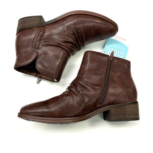 Primary Photo - BRAND: BARE TRAPS STYLE: BOOTS ANKLE COLOR: BROWN SIZE: 9 OTHER INFO: WIDE SKU: 180-18038-106326