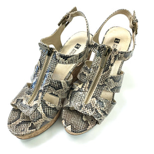 Primary Photo - BRAND: WHITE MOUNTAIN STYLE: SANDALS LOW COLOR: SNAKESKIN PRINT SIZE: 7.5 SKU: 180-18083-24686
