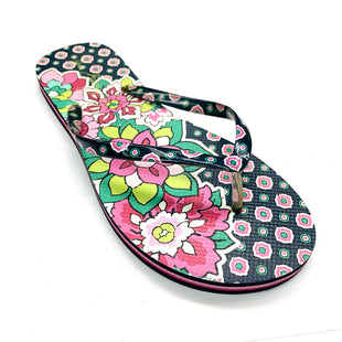 Primary Photo - BRAND: VERA BRADLEY O STYLE: FLIP FLOPS COLOR: FLORAL SIZE: 9 SKU: 180-18057-13595