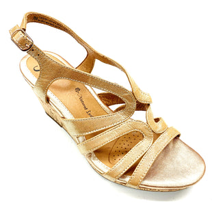 Primary Photo - BRAND: SOFFT STYLE: SANDALS LOW COLOR: GOLD SIZE: 8 SKU: 180-18038-90042