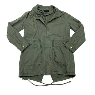 Primary Photo - BRAND: FOREVER 21 STYLE: JACKET OUTDOOR COLOR: OLIVE SIZE: M SKU: 180-18038-106111