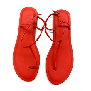 Primary Photo - BRAND: ANN TAYLOR LOFT STYLE: SANDALS FLAT COLOR: CORAL SIZE: 10 SKU: 180-18071-9934