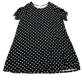 Primary Photo - BRAND: TERRA & SKY STYLE: DRESS SHORT SHORT SLEEVE COLOR: BLACK WHITE SIZE: 3X SKU: 180-18083-25176