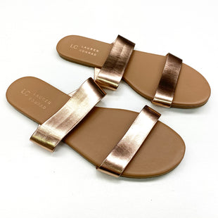 Primary Photo - BRAND: LAUREN CONRAD STYLE: SANDALS FLAT COLOR: ROSE SIZE: 9 SKU: 180-18083-22881