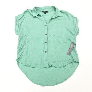 Primary Photo - BRAND: MOA MOA STYLE: BLOUSE SHORT SLEEVE COLOR: GREEN SIZE: M SKU: 180-18038-105434