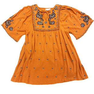 Primary Photo - BRAND: COCO AND JAIMESONSTYLE: TUNIC SHORT SLEEVE COLOR: ORANGE SIZE: S OTHER INFO: SKU: 180-18083-16468