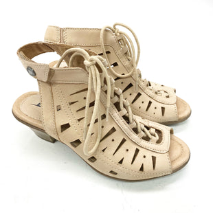 Primary Photo - BRAND: EARTH STYLE: SANDALS LOW COLOR: BLACK SIZE: 5 SKU: 180-18071-11344
