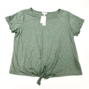 Primary Photo - BRAND: ADIVA STYLE: TOP SHORT SLEEVE COLOR: GREEN SIZE: L SKU: 180-18071-11816