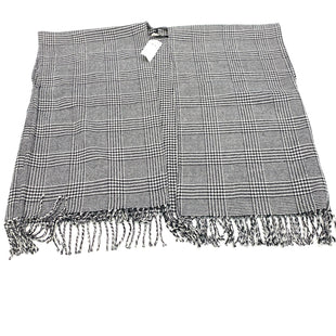 Primary Photo - BRAND: ANN TAYLOR LOFT STYLE: SHAWL COLOR: BLACK WHITE SIZE: ONESIZE OTHER INFO: M/L SKU: 180-18038-100423