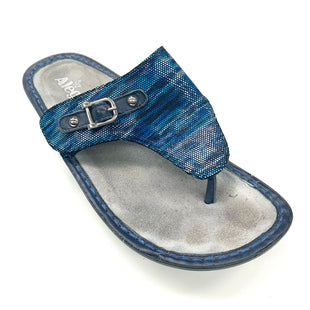 Primary Photo - BRAND: ALEGRIA STYLE: SANDALS LOW COLOR: BLUE SIZE: 9 OTHER INFO: (40) AS IS SKU: 180-18038-106276