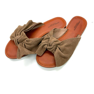 Primary Photo - BRAND: AMERICAN EAGLE STYLE: SANDALS FLAT COLOR: TAN SIZE: 6 SKU: 180-18038-105132