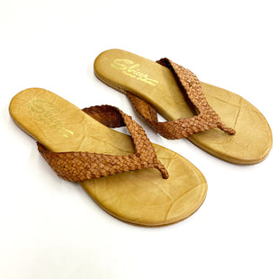 Primary Photo - BRAND: SBICCA STYLE: FLIP FLOPS COLOR: TAN SIZE: 7 SKU: 180-18038-99724