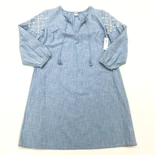 Primary Photo - BRAND: OLD NAVY O STYLE: DRESS SHORT LONG SLEEVE COLOR: DENIM SIZE: XS SKU: 180-18038-106130