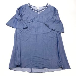 Primary Photo - BRAND: NAIF STYLE: DRESS SHORT LONG SLEEVE COLOR: DENIM SIZE: 1X SKU: 180-18057-13870