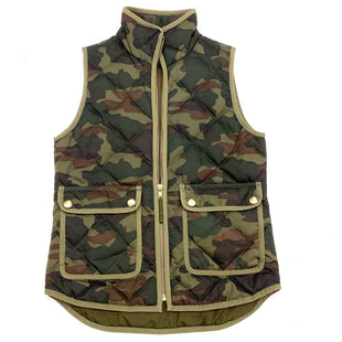 Primary Photo - BRAND: J CREW STYLE: VEST COLOR: CAMOFLAUGE SIZE: XS SKU: 180-18057-11953