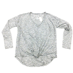 Primary Photo - BRAND: MAURICES STYLE: TOP LONG SLEEVE COLOR: SILVER SIZE: XS SKU: 180-18038-88445