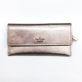Primary Photo - BRAND: KATE SPADE STYLE: WALLET COLOR: ROSE SIZE: LARGE OTHER INFO: PWRU7035, CAMERON STREET HARLING, RETAIL $128 SKU: 180-18083-19238VERY BEAUTIFUL ROSE GOLD COLOR, PICTURE DOESN'T DO IT JUSTICE.
