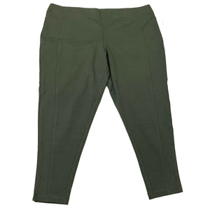 Primary Photo - BRAND: CJ BANKS STYLE: PANTS COLOR: OLIVE SIZE: 3X SKU: 180-18057-14004